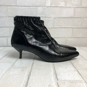 3.1 Phillip Lim Blitz Textured Leather Ankle Boot